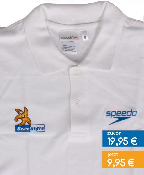 SwimStars-Polo-Shirt 'white'